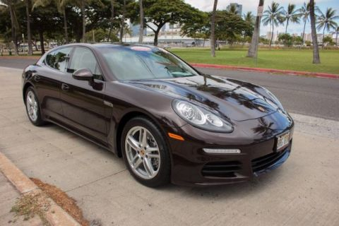 Certified Pre-Owned 2015 Porsche Panamera 4 All Wheel Drive Hatchback