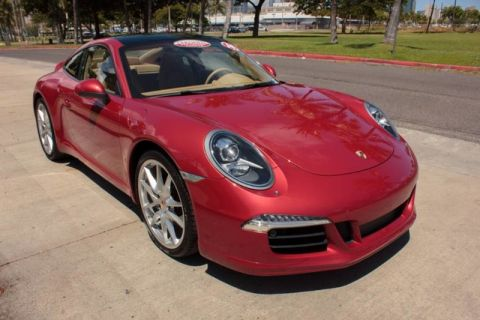 Certified Pre-Owned 2014 Porsche 911  Rear Wheel Drive Coupe