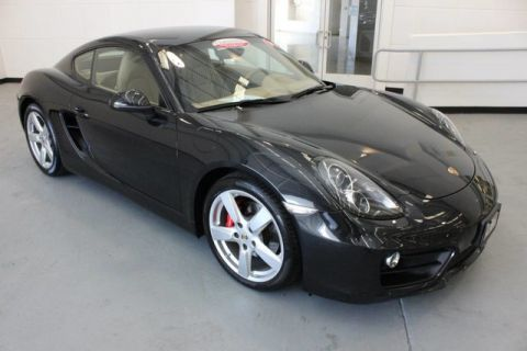Certified Pre-Owned 2014 Porsche Cayman S Rear Wheel Drive Coupe
