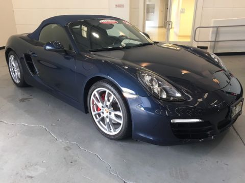 Certified Pre-Owned 2014 Porsche Boxster S Rear Wheel Drive Coupe
