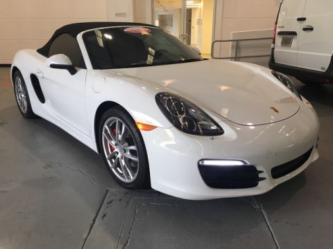 Certified Pre-Owned 2015 Porsche Boxster GTS Rear Wheel Drive Convertible