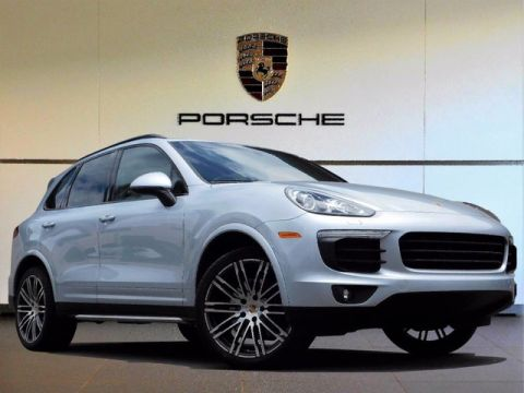 Pre-Owned 2017 Porsche Cayenne Platinum Edition All Wheel Drive Sport Utility