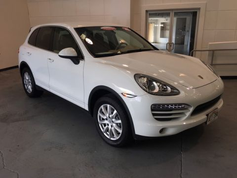 Certified Pre-Owned 2014 Porsche Cayenne Platinum Edition All Wheel Drive SUV