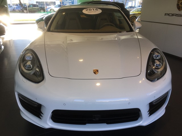 Certified Pre-Owned 2016 Porsche Panamera Turbo