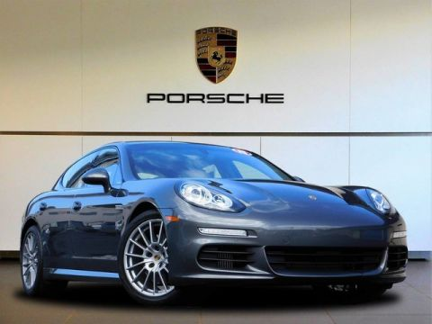 Certified Pre-Owned 2015 Porsche Panamera S Rear Wheel Drive Hatchback