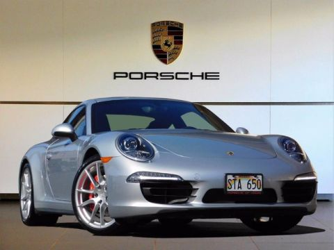 Certified Pre-Owned 2015 Porsche 911 Carrera 4S All Wheel Drive Coupe