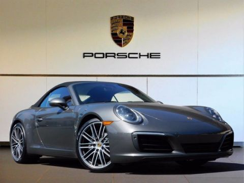 New 2017 Porsche 911 Carrera Rear Wheel Drive Convertible