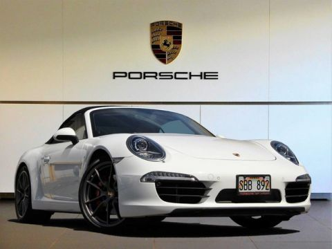 Pre-Owned 2014 Porsche 911 Carrera 4S All Wheel Drive Convertible