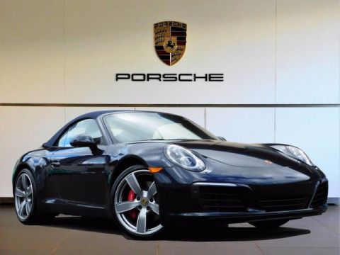 New 2017 Porsche 911 Carrera S Rear Wheel Drive Convertible