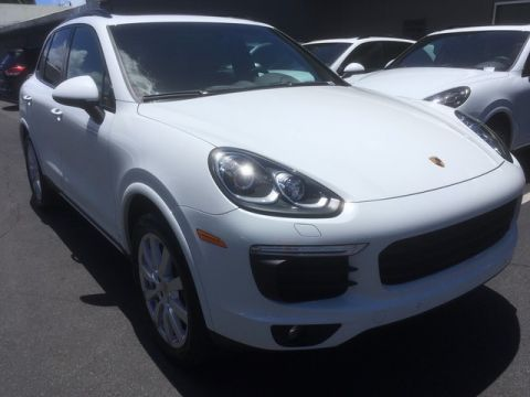 Pre-Owned 2017 Porsche Cayenne All Wheel Drive Sport Utility