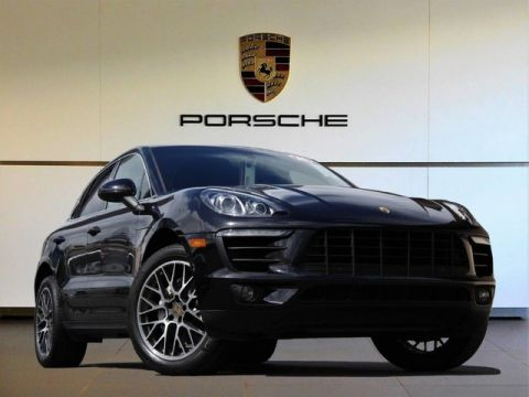 Certified Pre-Owned 2016 Porsche Macan S All Wheel Drive SUV