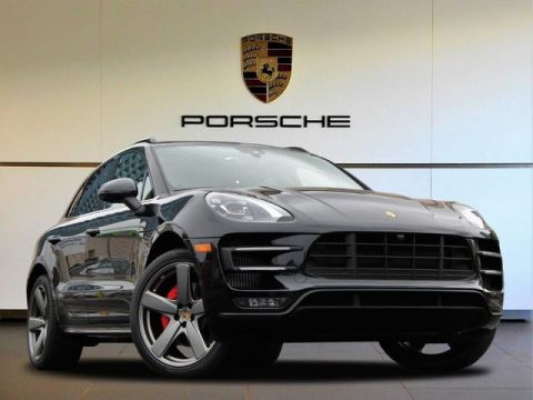 New 2018 Porsche Macan Turbo All Wheel Drive Sport Utility